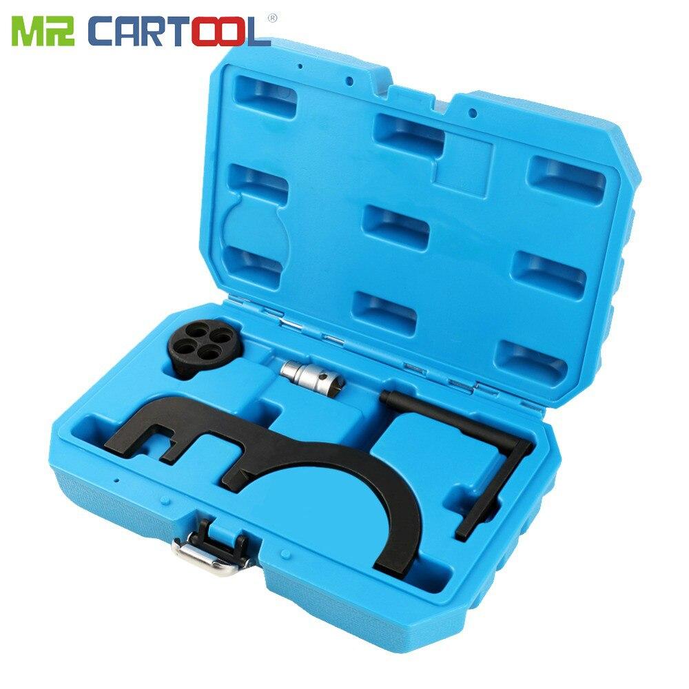 MR CARTOOL 5 pièces voiture moteur Timing outils spéciaux pour BMW N47 N47S N57 Auto réparation main outil Kit voiture moteur entretien outil