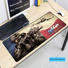 Mairuige 900*400*4mm Large Plane Gaming Mouse Pad Overlock Rubber Mousemat Optical Speed Mice Mat For CS GO LOL DOTA Mousepad