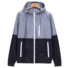Новинка 2019 года осень для мужчин's курточка бомбер куртки контраст цвет легкий куртки пальто для будущих мам мужские повседневные приталенные стенд куртка с воротн