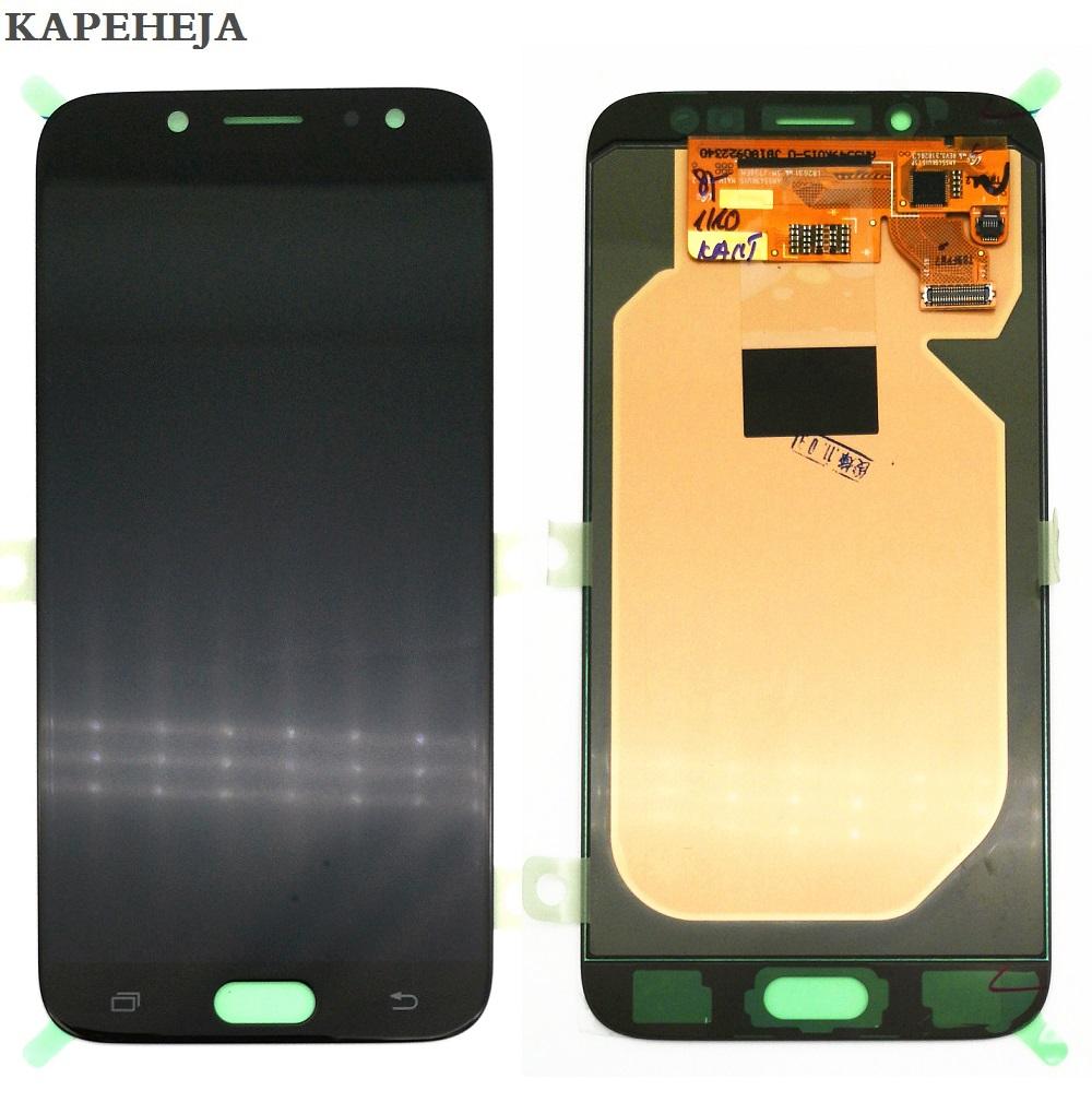 New Super AMOLED Display LCD Per Samsung Galaxy J7 Pro 2017 J730 J730F Display LCD Touch Screen Digitizer AssemblyNew Super AMOLED Display LCD Per Samsung Galaxy J7 Pro 2017 J730 J730F Display LCD Touch Screen Digitizer Assembly