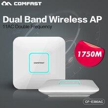 1750 Мбит 802.11 AC Dual Band 2.4 + 5.8 Ггц Comfast Gigabit Беспроводной Маршрутизатор WI-FI Ретранслятор крытый точка доступа ap Booster Extender