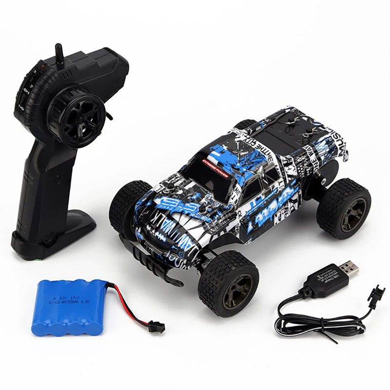 RC Car 2.4G 4CH 1:18 Driving Cars Drive Bigfoot Car Remote Control Cars Model OffRoad Vehicle Toy rc drift toys for children image
