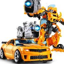 20Cm Biến Đổi Mới Đồ Chơi Bé Trai Anime Hành Động Hình Nhựa ABS Robot Xe Thoáng Mát Khủng Long Xe Tăng Mô Hình Máy Bay Cho Trẻ Em quà Tặng