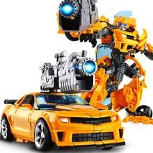 20Cm Nieuwe Transformatie Speelgoed Jongen Anime Action Figure Plastic Abs Robot Auto Cool Dinosaurus Tank Vliegtuigen Model Kinderen Kids gift