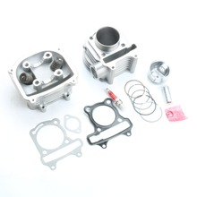 Scooter 152QMI 125cc 52 4mm GY6 Engine Rebuild Kit Cylinder Kit Cylinder Head Chinese Scooter