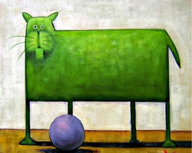 moderne schilderijen abstract