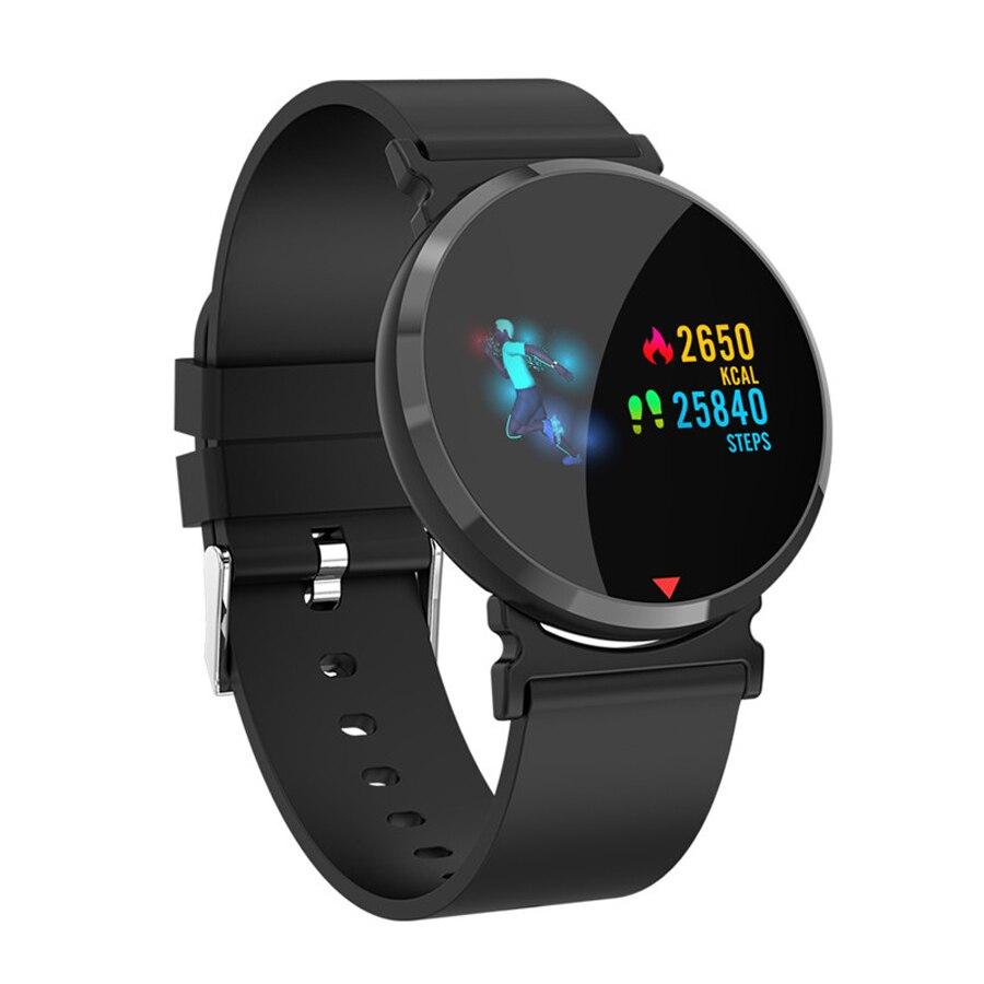 Color Screen Digital Sport Watch Waterproof Sports Smart Bracelet Heart Rate Monitor Pedometer Fitness Smart Watch Electronic