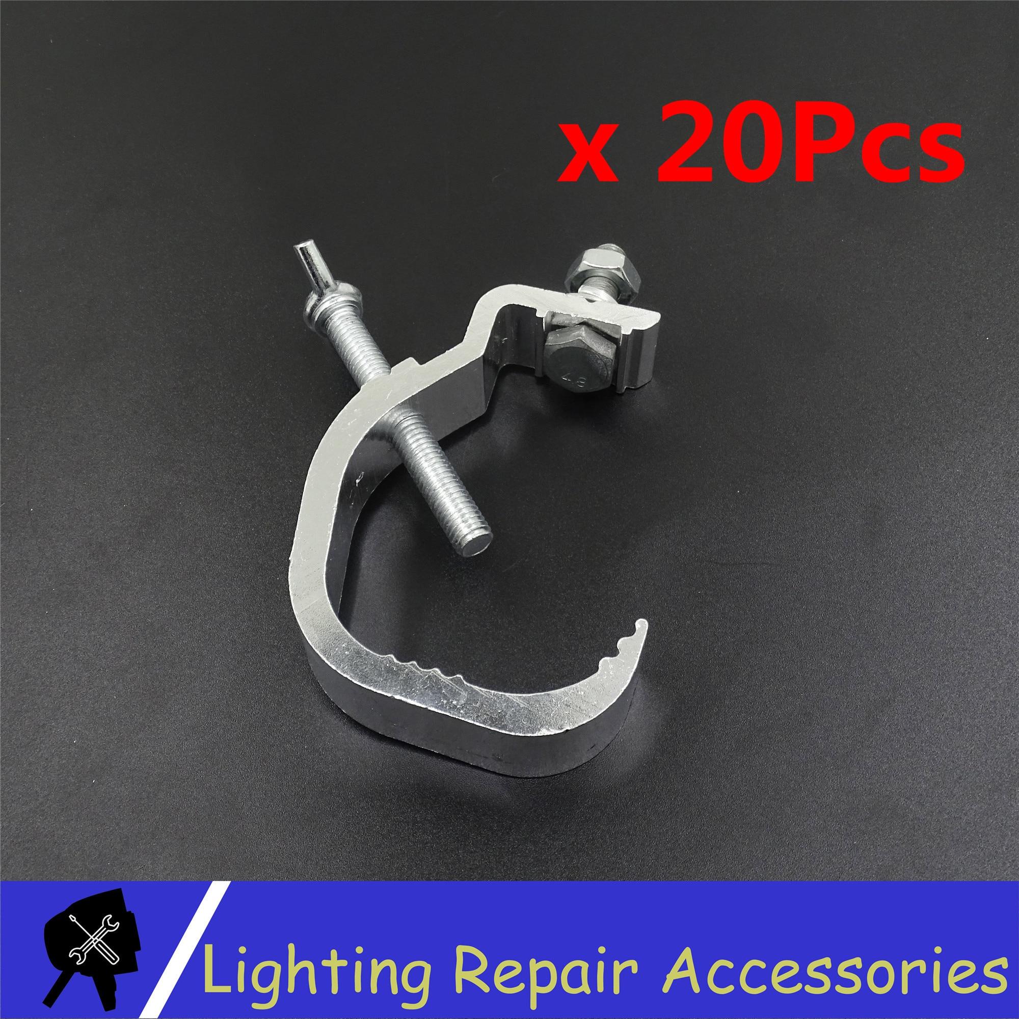 20Pcs/lots Par Light Hooks Aluminum Lights Hook 30-55mm Stage Equipment Led Stage Light Truss DJ Club Light Hanging Hook