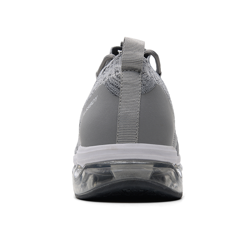 running shoes for men sports sneaker full palmar air cushion jogging shoes fly wire The light Comfortable shoe shock absorption