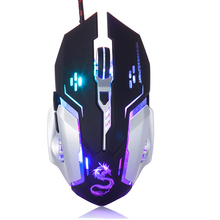 USB Gaming Wired Mouse Ergonomic 6 Buttons For Notebook Gamer Computer Laptop Mice Windows