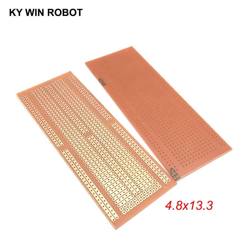 1pcs DIY 4.8*13.3CM Prototype Paper PCB Universal Experiment Matrix Circuit Board 4.8x13.3CM