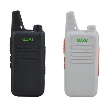 2pcs x WLN KD-C1  Black / White 16 Channel Ultra-thin mini Walkie Talkie UHF 400-470 MHz Ham Radio - sale item Walkie Talkie