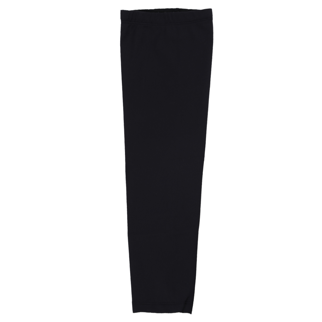 NEW Sport Football Basketball Cycling Strech Leg Knee Long Sleeve L - black