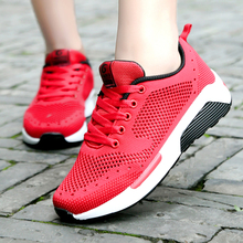 Monrinda Women Running Shoes Sneakers Lightweight Fitness Outdoor Sport For Breathable Mesh Vamp Jogging Shoe Size 7