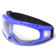 Airsoft Goggles Tactical Paintball Clear Glasses Wind Dust Protection Motorcycle, Blue