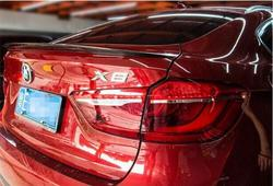 Carbon Fiber CRA tylne skrzydło TRUNK LIP spojlery FIT FOR BMW X6 F16 2014 2015 2016 2017 wydajność styl