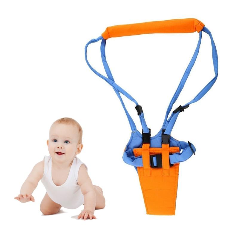 New Kid Baby Walker Infant Toddler Harness Walk Learning Assistant Walker Jumper Strap Belt Safety Reins Harness