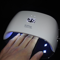 FOEONCO SUN9X 18W UV Lamp For Nail Manicure White Light Timer Control Professional Nail Dryer Curing