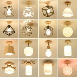 Lampa sufitowa  nowoczesne proste z litego drewna korytarz  pokój lamp  lampy hali  hol wejściowy  mały pokój  lampy i latarnie w Oświetlenie sufitowe od Lampy i oświetlenie na