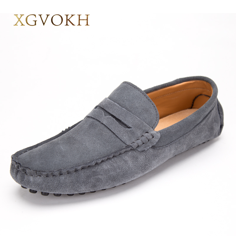 Men shoes fashion Soft Moccasins Men Loafers High Quality Leather Shoes Man Flats Spring and Autumn Style light Driving Shoes  spring and autumn business casual leather moccasins shoes soft leather soft outsole men s light free shipping