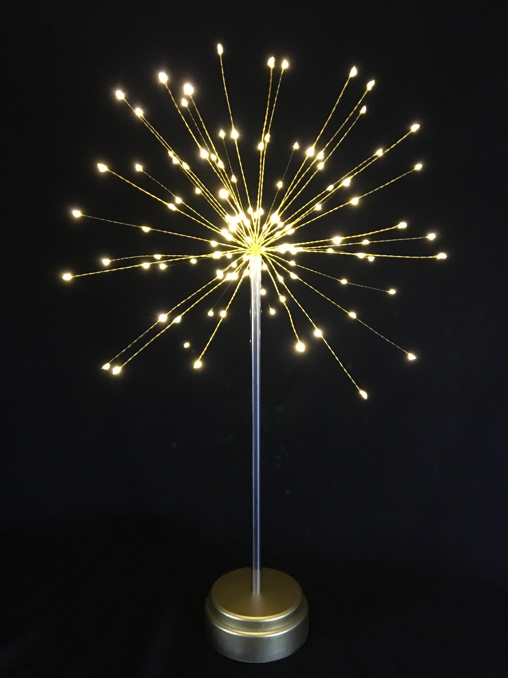 DIY 120 LED starburst table light Battery Operated Holiday ...