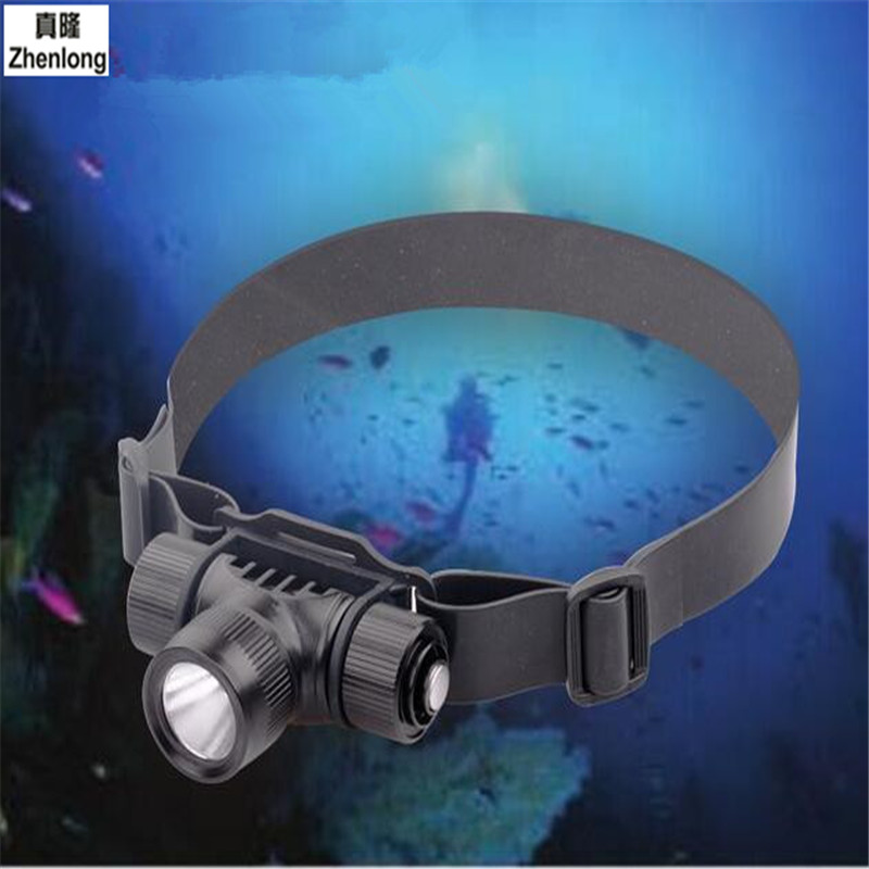 LED Diving Headlights Outdoor Professional Glare Diving Lights Waterproof Search Hunting Patrolling Fishing Headlights diving adventure