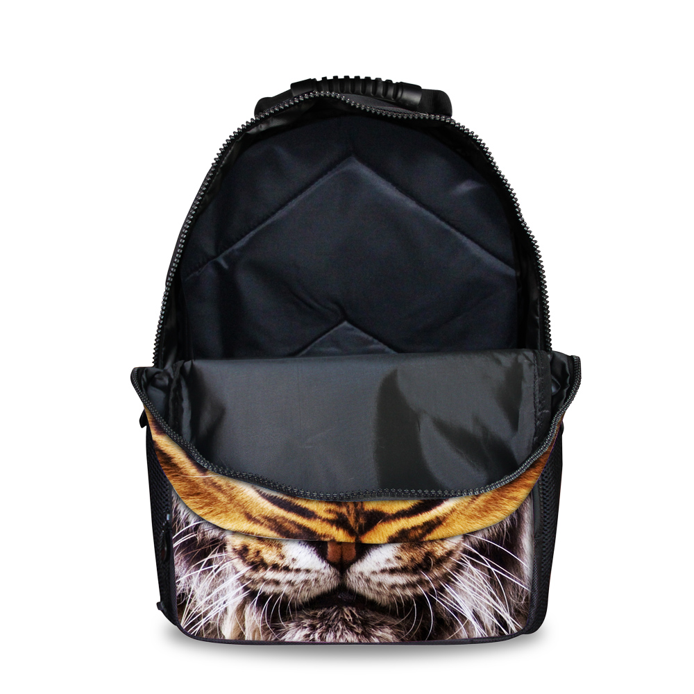 FORUDESIGNS Men Backpack Homme Fashion Backpacks Animal Pit Bull Dog Printing Backpack For College Boys Cool Male Back Pack