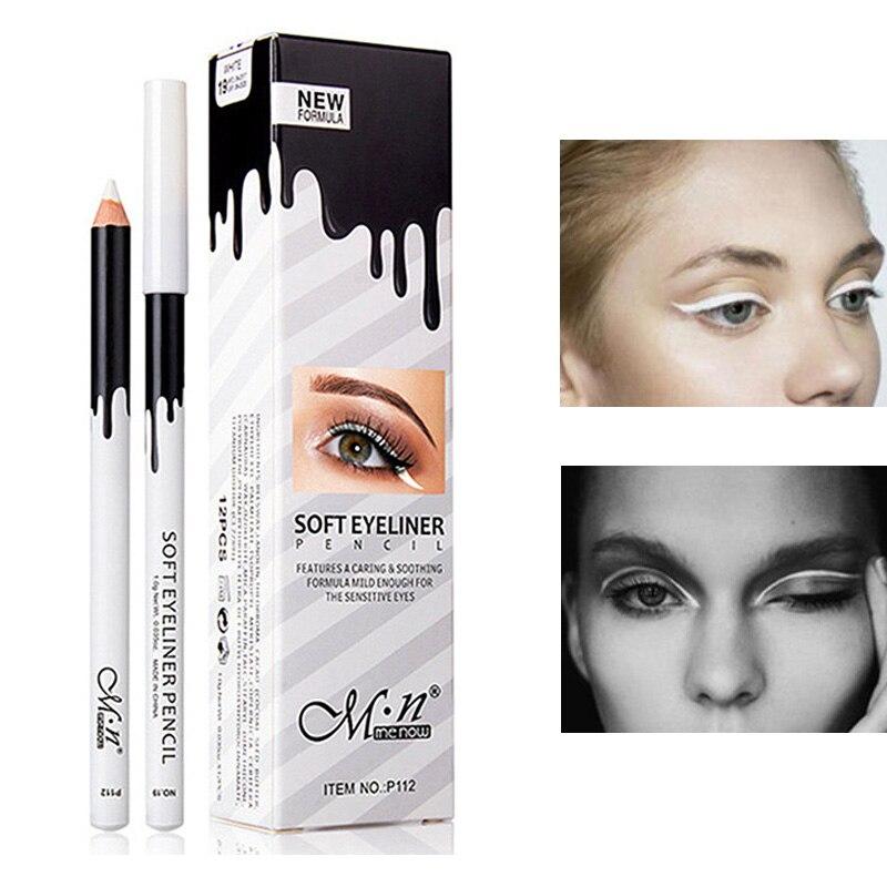 2019 New Waterproof White Eyeliner Pencil Long-lasting Eyes Contur Eye Liner Makeup Eyes Cosmetic Eyeliner Pen High Qualtiy