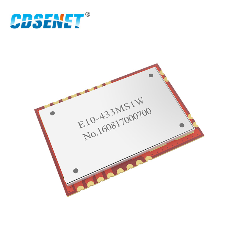 SI4463 PA LNA 433 MHz Дальний диапазон E10-433MS1W SPI rf модуль CDSENET 433 MHz 1W беспроводной приемопередатчик модуль TCXO штамп отверстие