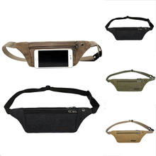 2019 New Men Waist Belts Pouch Packs Phone Bags Sport Running Case Carrying Cover Night Vision Outdoor Travel(China)