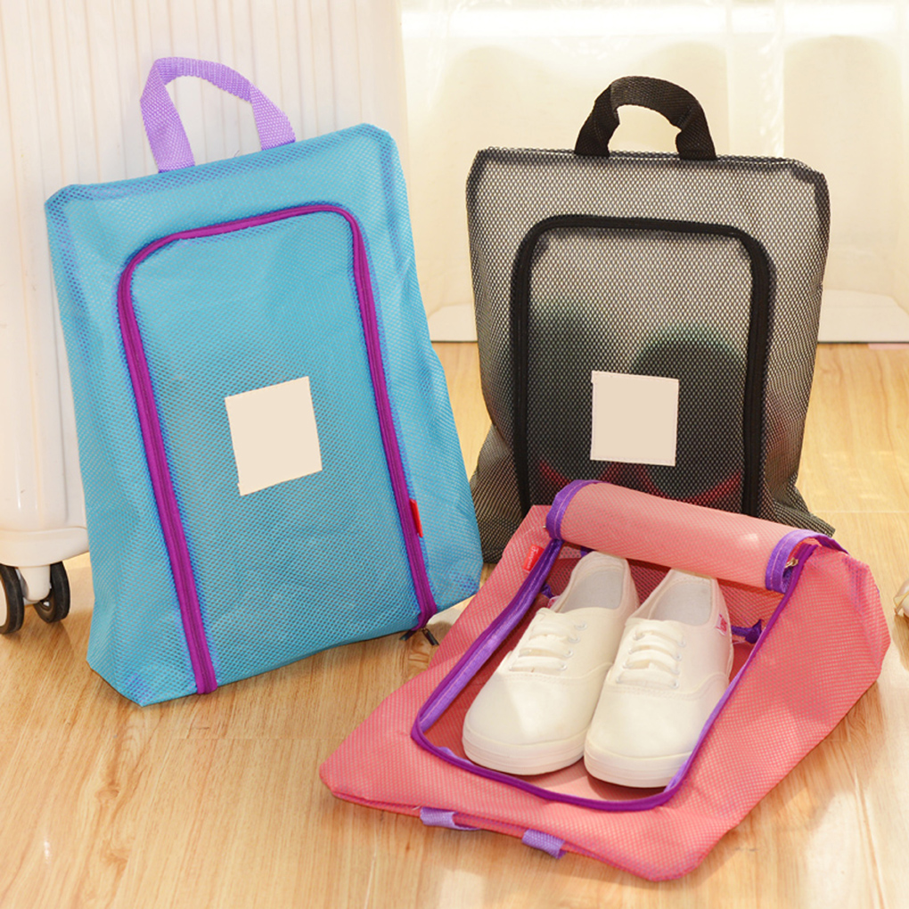 Convenience Shoes Storage Organizer Waterproof Travel Handbag Bag Tote Toiletries Laundry Pouch Storage Case