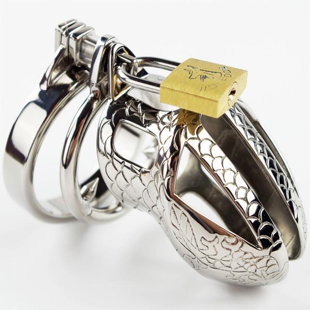 10 unids Masculino cinturón de Castidad de metal de acero Inoxidable dispositivo de Castidad Alternativa Estímulo Suministros Para Sexo