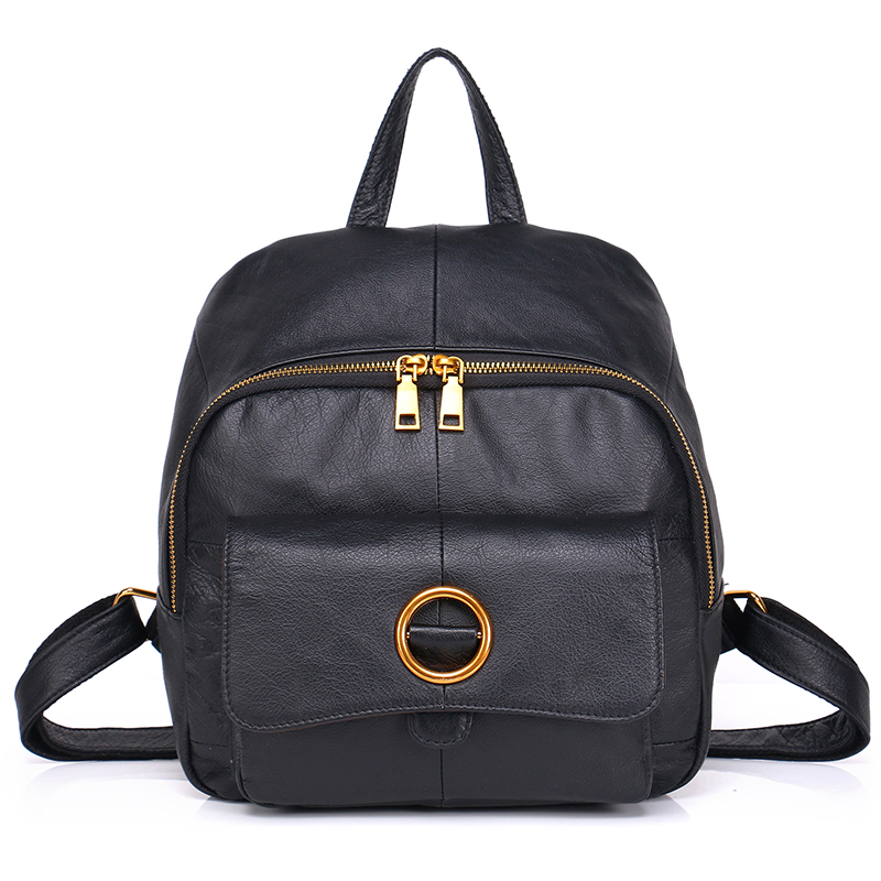 Kafunila women genuine leather backpack for women real leather school bag high quality famous brand designer travel bags mochila vieline genuine leather women backpack famous brand lady leather backpack leather school bag free shipping