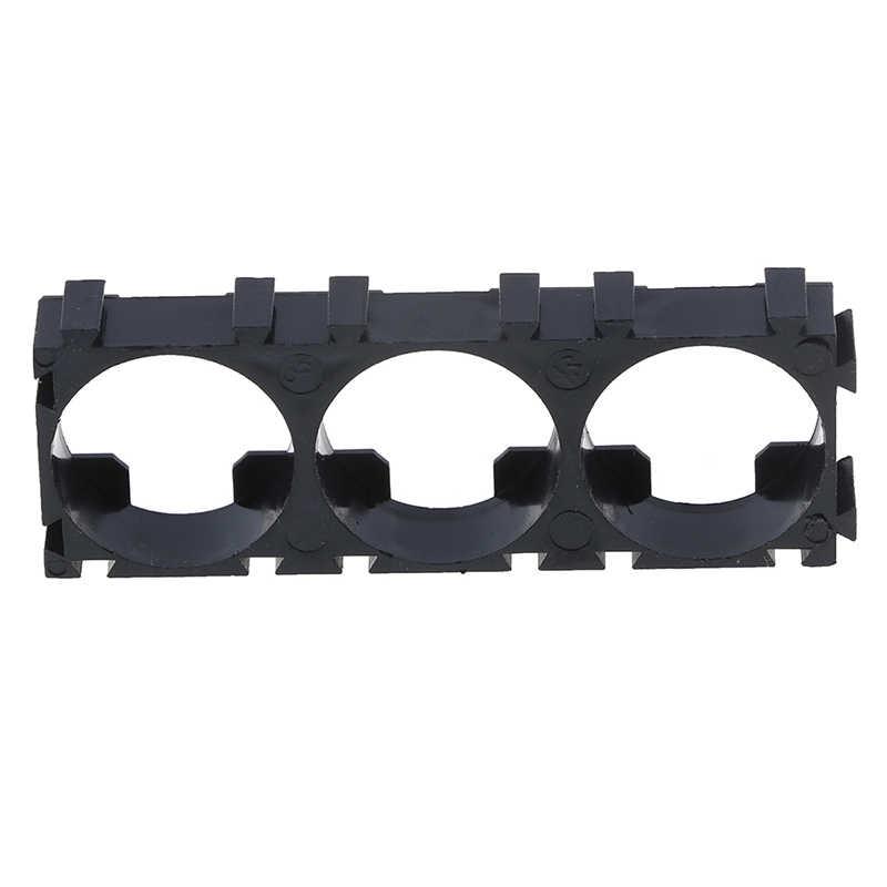 3x celda 18650 soporte de batería DIY baterías cilíndricas paquete accesorio Anti Vibración caja de almacenamiento contenedor