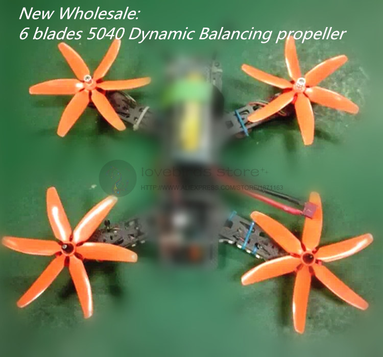 Wholesale LB 5040 propellers high-quality 5*4 inch 6 blades (CW/CCW) for DIY mini race drone wheelbase 210-280 4 pairs eachine 3020 propellers cw ccw for bg1104 4000kv motors dys x160