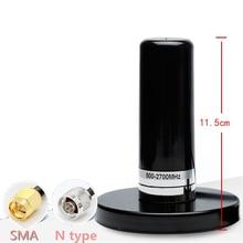 35dbi גבוהה רווח GSM 2.4G 3G 4G רכב/רכב יניקה כוס אנטנת כבל בסיס מגנטי הר ארוך מרחק אות SMA/N סוג זכר