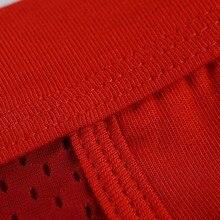 LUWCON 4Pcs/Lot Modal Men Briefs Mesh Men's Underwear Briefs Comfortable Breathable Mens Underpants Panties DK03