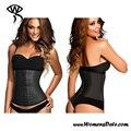 Symrun Modelado Correa de Cintura Sexy Entrenamiento de La Cintura Mujeres Hueso de Acero Corsé Faja de Cintura Para Adelgazar Con 9 Unids XL-3XL