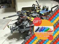 05032 1022Pcs Star Space Series Wars Captain Rex S AT TE War Set Building Blocks Compatible