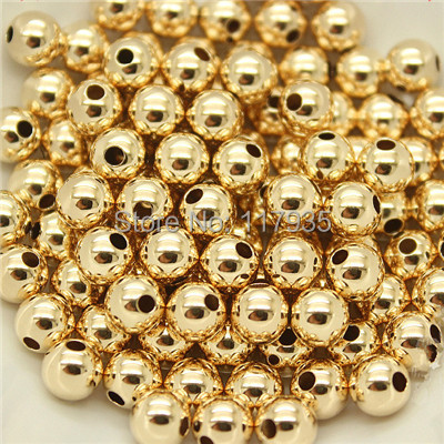Wholesale 20beads lot quality pure copper rolled 14k gold filled 2