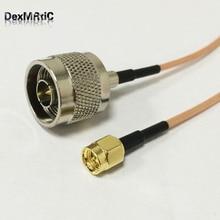 6 дюймов RG316 SMA штекер N штекер M/M удлинитель коаксиального кабеля кабель перемычки rf внешняя антенна 15 см
