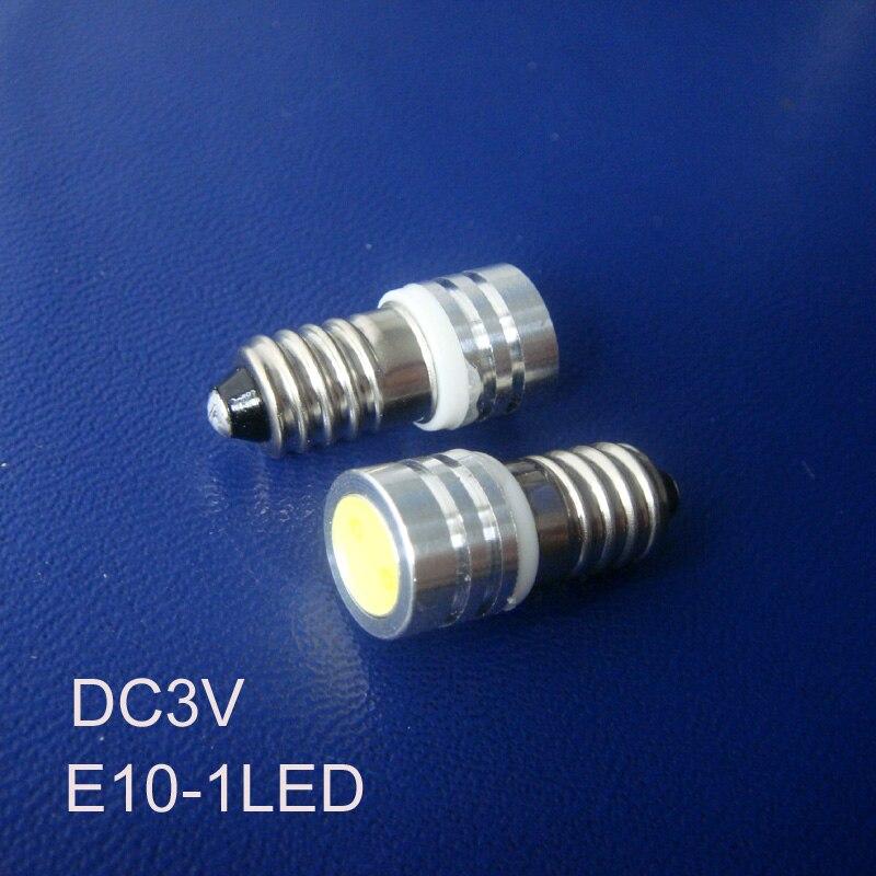 Высокое качество DC3V E10 светодиодный свет инструмента, Предупреждение свет, E10 светодиодный индикатор, e10 светодиодная лампа пилот Бесплатна...