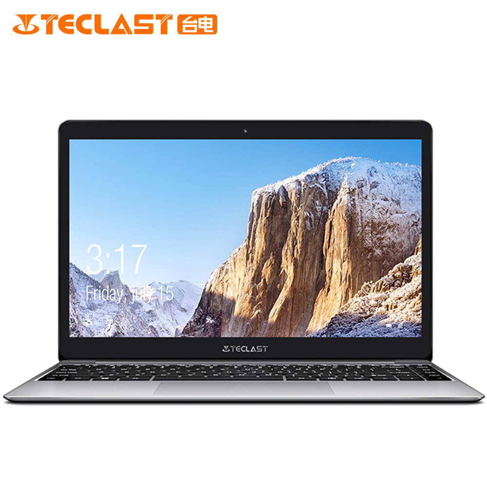 Teclast F7 Plus Notebook 14.0 ''Windows 10 Thuis Versie Intel Gemeos Lago N4100 8 GB de RAM Quad Core 1.1 GHz 128 GB SSD Laptop