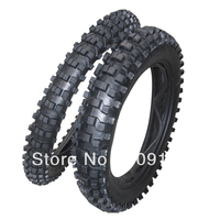 70 100 17 Front Tyre 90 100 14 Rear Tyre For Dirt Bike Use