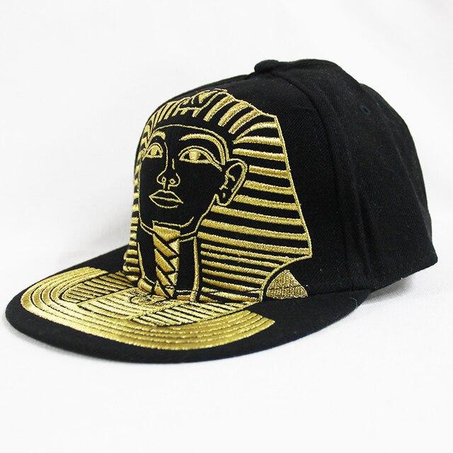 Black karlkani brand men s baseball hip hop cap Sphinx Gold embroidery  masculino planas hip hop cap 6ac50b0afe7