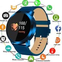 Q8 Touch Screen Smartwatch Heart Rate Fitness Smart Watch Men Women IP67 Waterproof Sport Fitness Wearable Devices Electronics