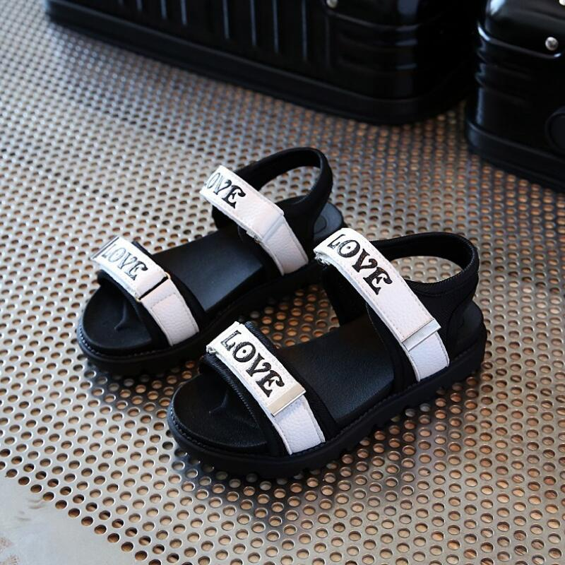 2019 Children Summer Sandals Baby Boys Sorft Comfotable Shoes Little Girls Casual Beach Sandals Toddler Kids Footwear 2 7 year in Sandals from Mother Kids