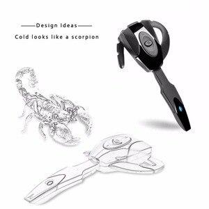 Image 4 - Mini Bluetooth 4.1 Draadloze Headset Oortelefoon Hoofdtelefoon Met Microfoon Handsfree Oorhaak Headset Voor Samsung PS3 Game Console
