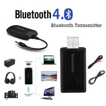 USB Wireless BT4.0 Transmitter Stereo Audio Music Adapter for TV Phone PC Y1X2 Bluetooth Adapter USB Dongle for Computer#PTN(China)