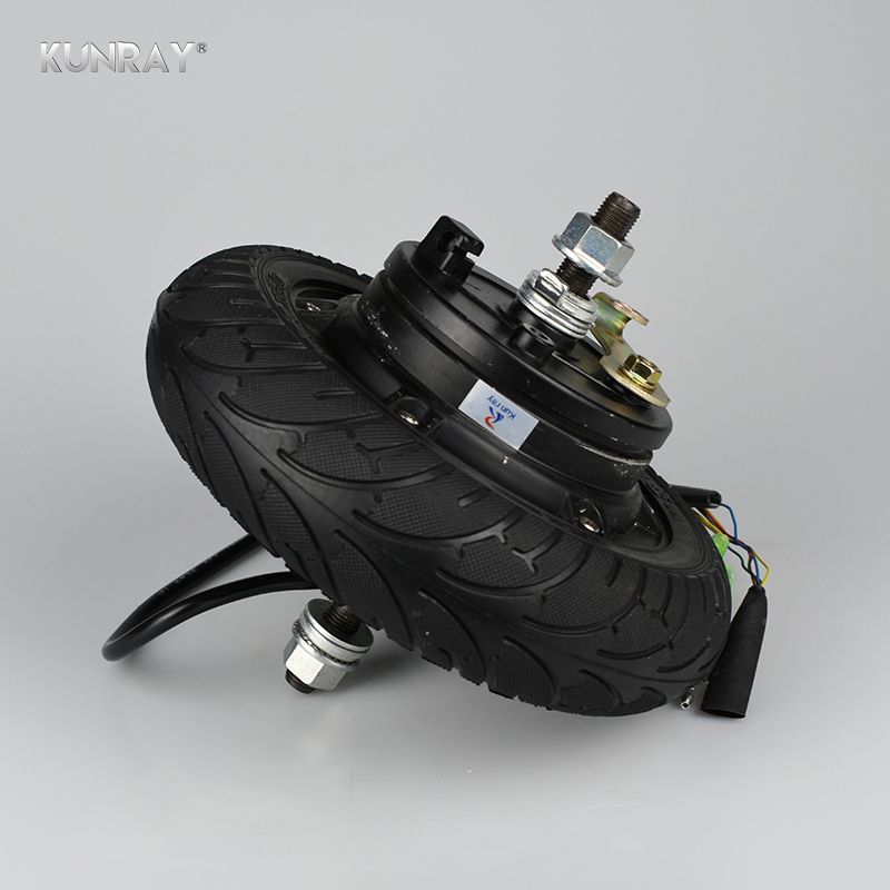 Electric Scooter Hub Wheel Motor 24V 36V 48V DC Brushless Toothless 8 Wheel Motor E Scooter Wheel Bicycle Motor Wheel LM